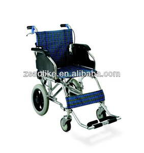 Transport Aluminum Lightweight Wheelchair