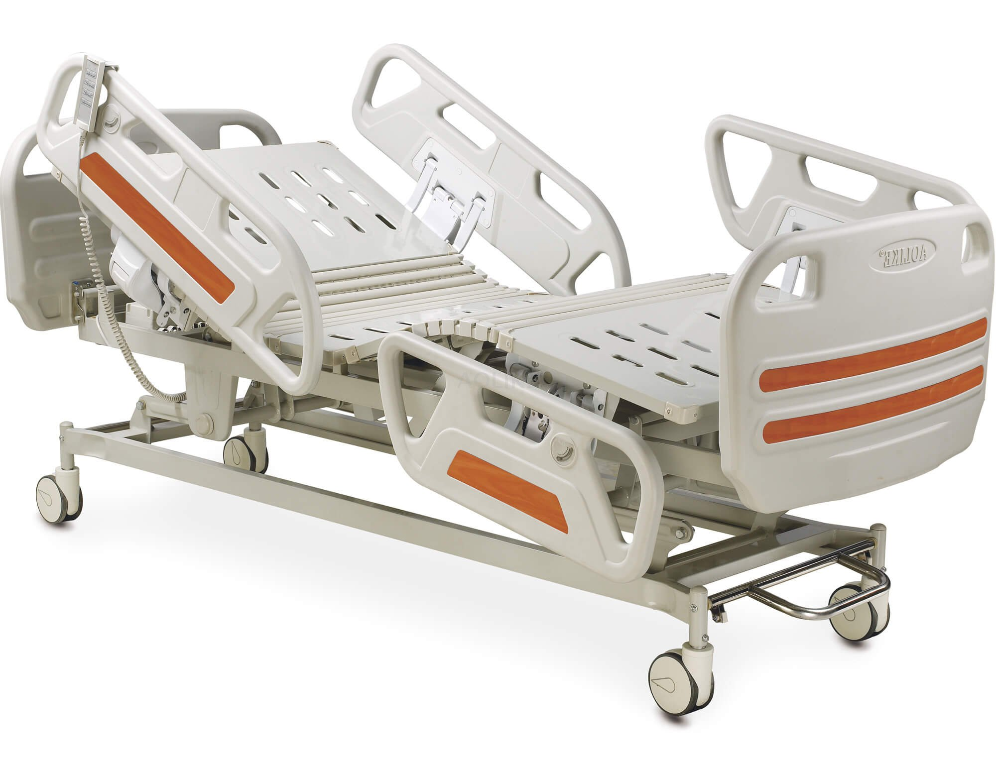 Hospital beds for salts Three Function Electric ICU hospital bed with Control brakes