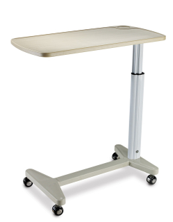 Adjustable Hospital Bedside table (Over bed table)