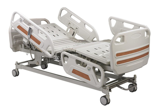 CE, FDA and ISO13485 Quality Five Function Electric Ward bed (long bedrail) ALK06-B01P-B