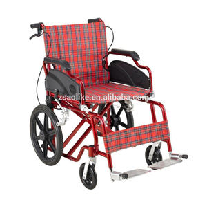 Aluminum lightweight wheelchair for halls ALK910LBJ