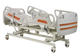 EC, FDA approved High Quality And Inexpensive Electric hospital bed for salts with 3 function