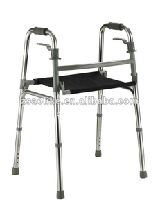 Cheap price lightweight Aluminum Rollator walker ALK761L